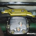 Beatrush Rear Diff Mount Support Bar Subaru for Classic GC8