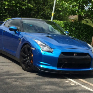 Nissan Gt R 3.8 Black Edition 2dr Auto PRIVATE PLATE U201cGTRu201d INCLUDED