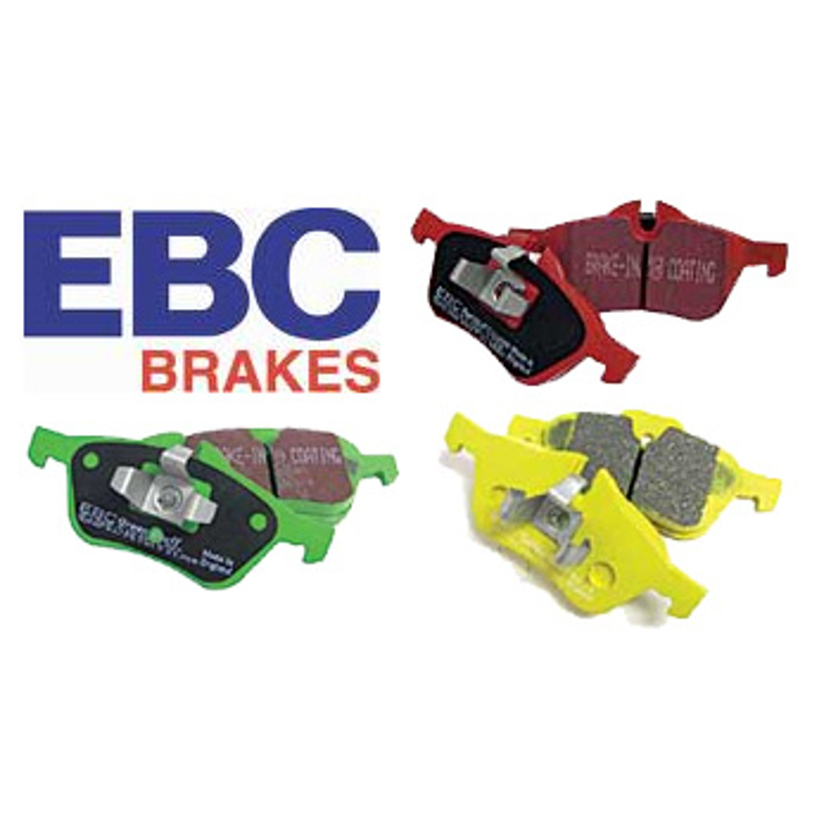 Ebc Brake Pads >> Ebc Brake Pads Red Yellow Blue Stuff Prices Include Vat In Uk
