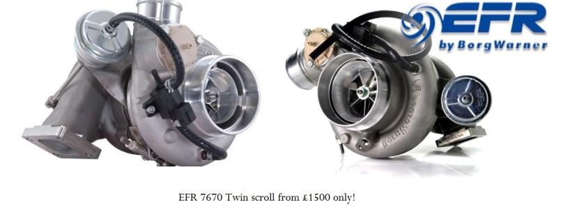 BorgWarner EFR Series turbo sale now on!
