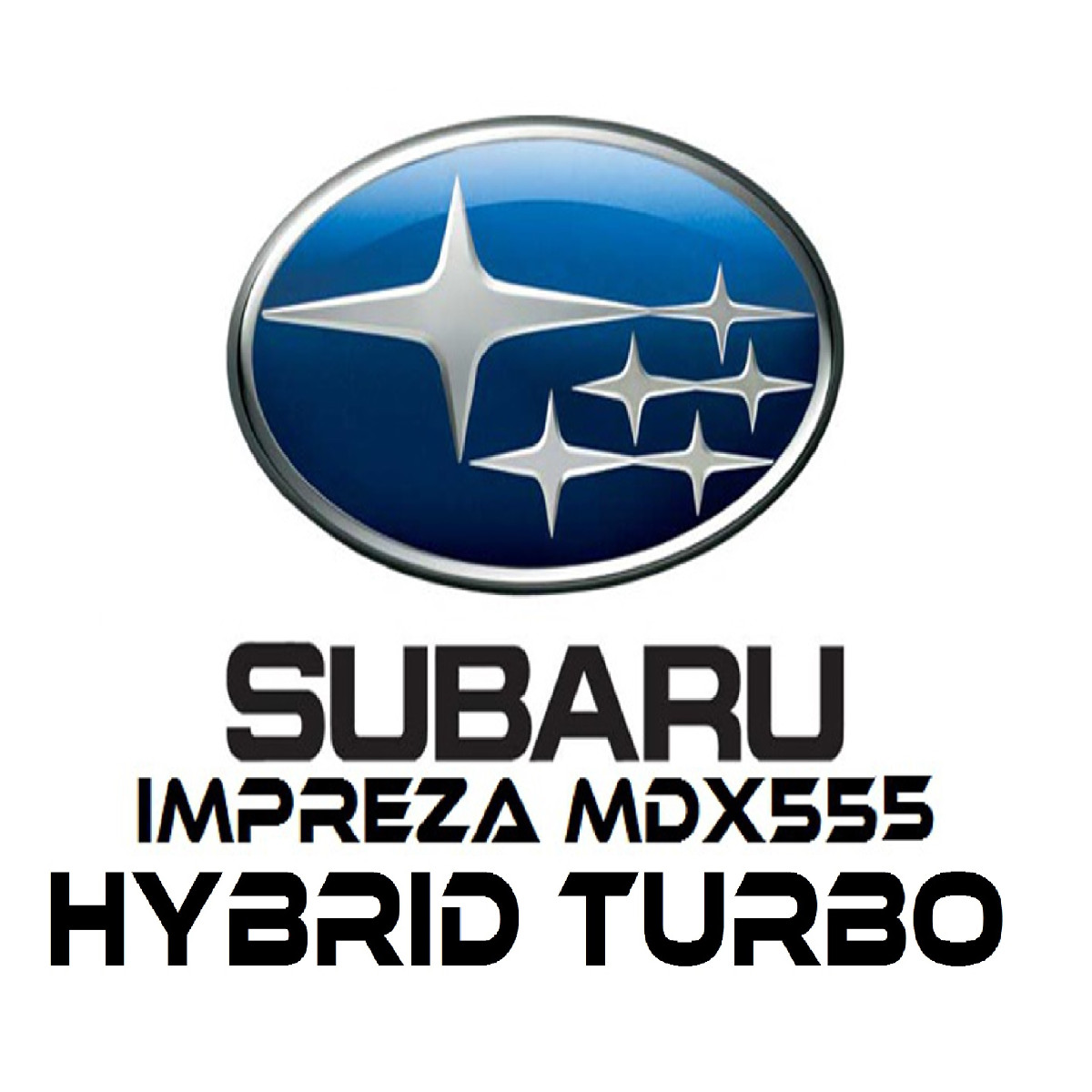 Subaru Impreza Hybrid Turbos MDX555
